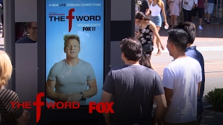 Gordon Ramsay Surprises Shoppers With This Living Poster Prank   Season 1   THE F WORD
