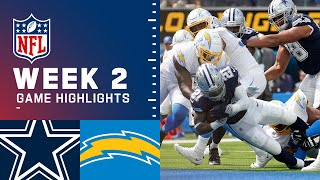 Cowboys vs. Chargers Week 2 Highlights | NFL 2021