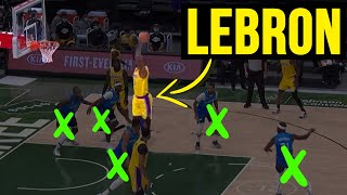 When LEBRON JAMES Gets MAD- THIS HAPPENS!!!