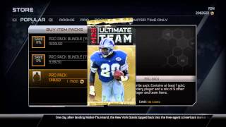 Madden 25 Ultimate Team | 200k Pack Opening | 99 Ultimate Legends | 99 Calvin Johnson Jr.