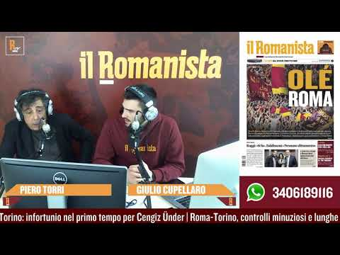 VIDEO - Piero Torri dopo Roma-Torino 3-2: