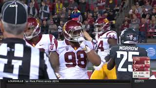 USC Football: WSU 30, USC 27 - Highlights (9/29/17)