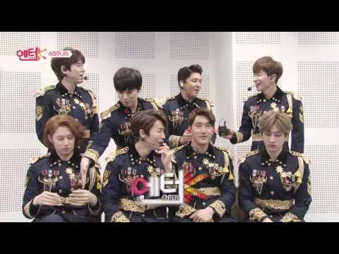 150227 엔터-K Super Junior Video Message