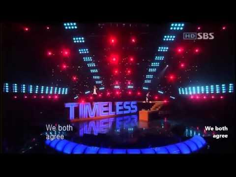 [HD繁中字] 060917 張力尹(장리인) feat. 細亞俊秀(시아준수)-Timeless live