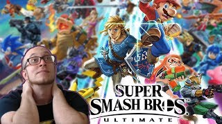 #ESAMOpinion of ALL CHARACTERS in Super Smash Brothers Ultimate
