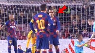 Look at What happened between Lionel Messi & Antoine Griezmann