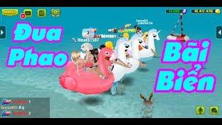 Cùng My Đua Phao Bơi - Giải Trí Mùa Hè 😘 (Avatar Musik)