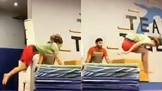 Disha Patani Performs MIND-BLOWING Stunts..