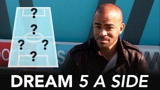 Scholes, Lampard or Gerrard; who do you drop? | Kieron Dyer's Dream 5 A Side