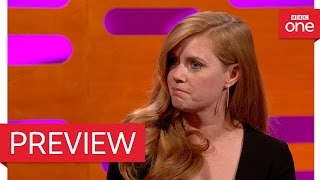 Amy Adams and Chris O'Dowd talk about crying: The Graham Norton Show 2016 - BBC One