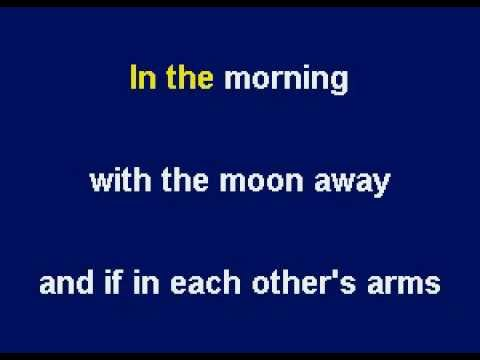 Moonlight (Theme From The Movie Sabrina) by Sting - Karaoke