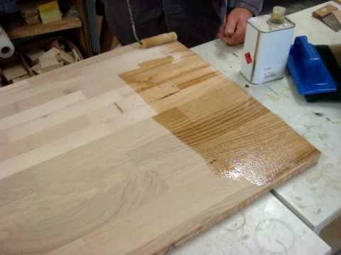 Hard Wax Oil 1 Coat Youtube