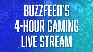 BuzzFeed's Live 4-Hour Gaming Stream: Overwatch, Hollow Knight, Cooking Mama, & More