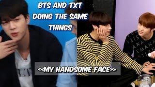 bts and txt aren't so different
