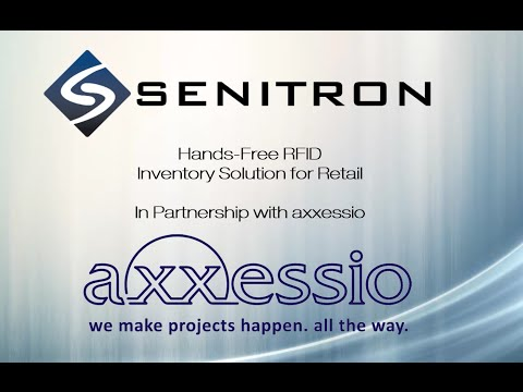 Senitron Hands-Free RFID Inventory Solutions for Retail