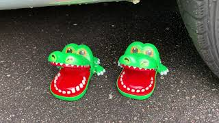 Crushing Crunchy & Soft Things by Car! -EXPERIMENT- CAR VS CHICKEN