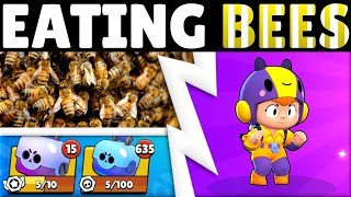 you challenged me to eat bees until I get Bea... here's the video...