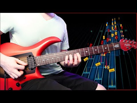 Rocksmith but it's with the new guitar