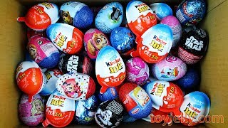 New Super Kinder Joy Surprise Eggs for Boys & Girls Unboxing Play Doh Toys Learn Colors Fun for Kids