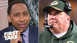 Stephen A. shocked to hear of Cowboys hiring Mike McCarthy live on air | First Take