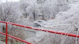 Ледяной дождь в Артёме