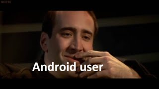 Android users Reaction to iPhone's 12 Display