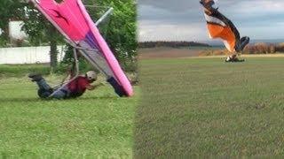 Analyzing Crashes Paragliding Paramotor and Hanggliding