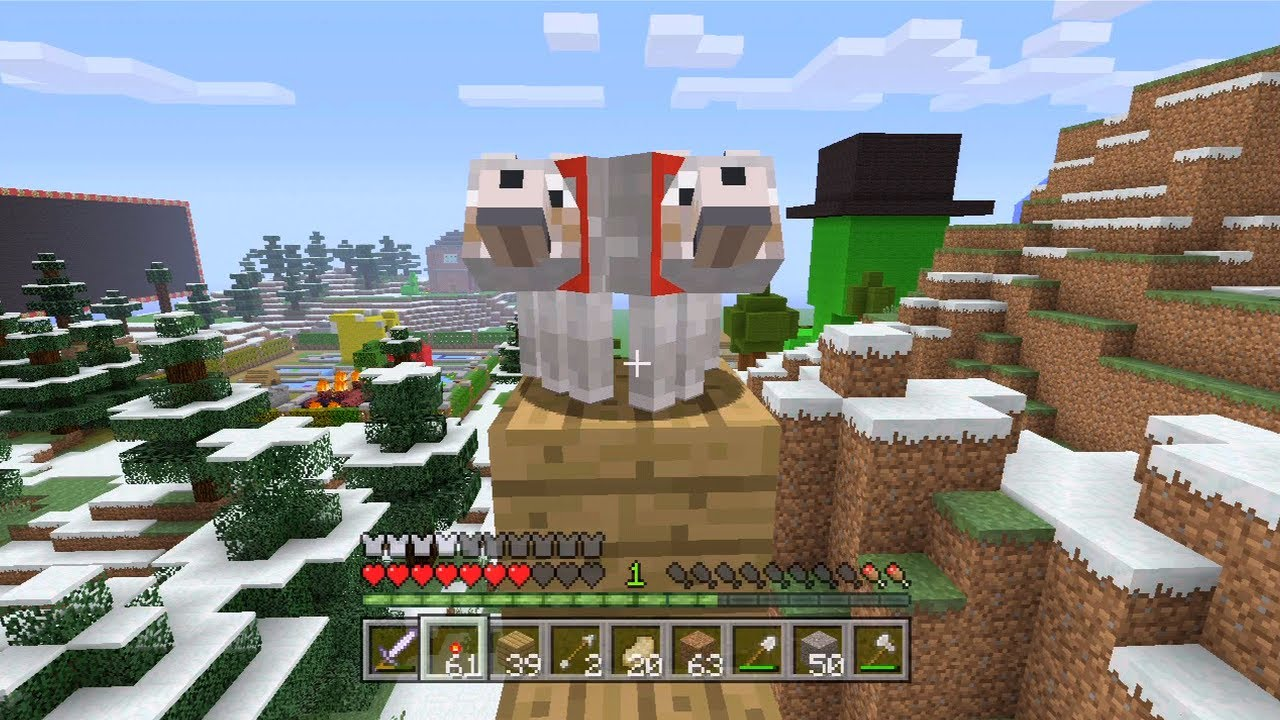 Minecraft Xbox Mutant Dog 56 Youtube