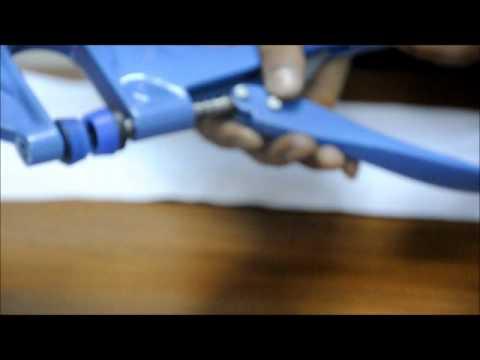 Micron H-1 Hand Pliers  Self Piercing Grommet Installation