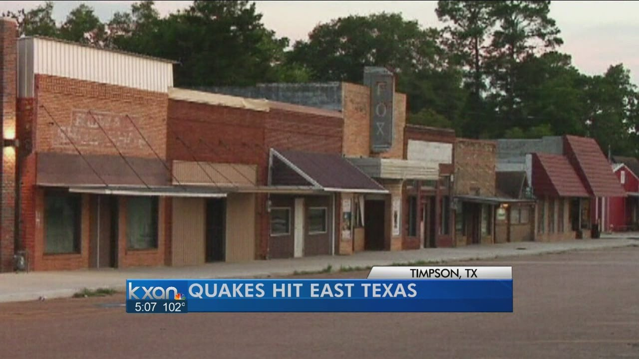 2 Earthquakes Recorded Near East Texas Town - Smashpipe Entertainment