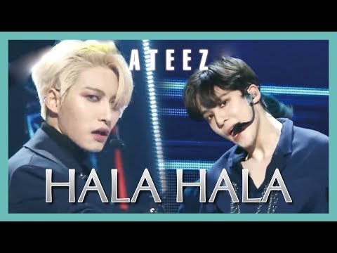 [HOT] ATEEZ - HALA HALA , 에이티즈 - HALA HALA Show Music core 20190223