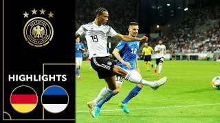 Rousing Attacking Football | Germany - Estonia 8-0 |Highlights | Euro Qualifiers