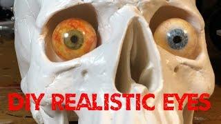 EASY DIY Realistic Resin EYES