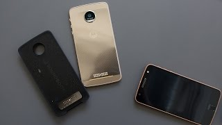 Moto Z and Moto Mods first look