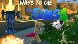 Ways To Die: In The Sims 4 (All Sims 4 Deaths)