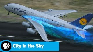 World's Biggest Passenger Plane Takes Off | CITY IN THE SKY | PBS