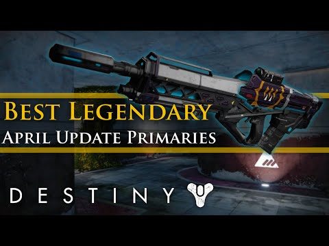 Best Destiny Primary Weapon Pve
