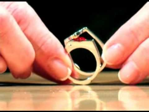 Crimson Ridge Commercial - Over The Top™ Interchangeable Stone Ring