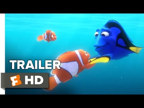 Finding Dory Official Trailer #1 (2016)