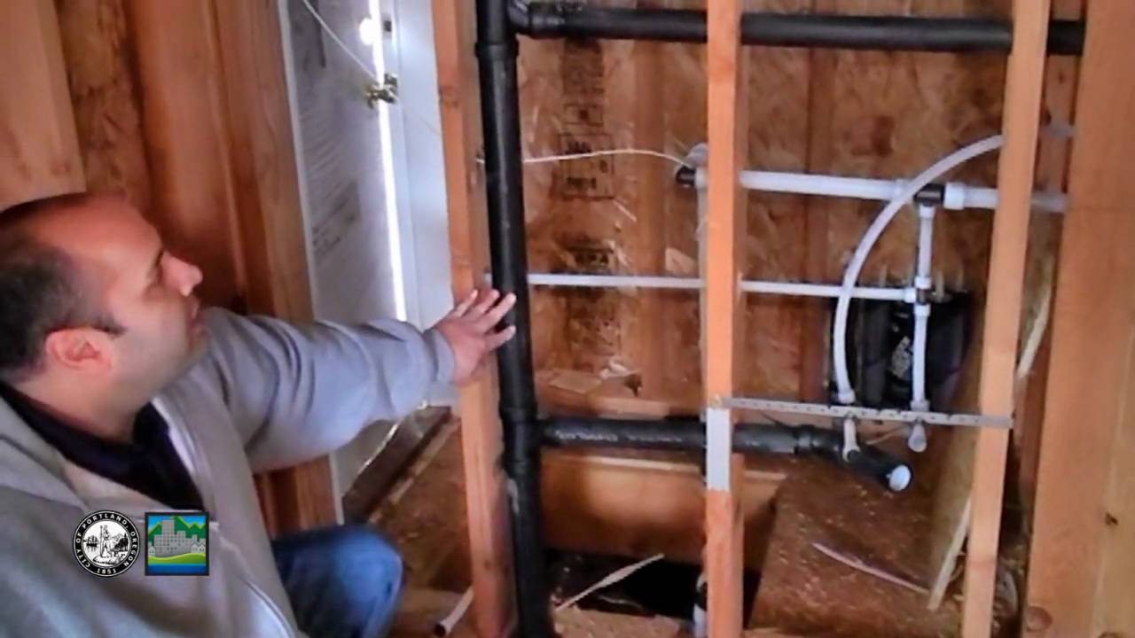 Plumbing Rough In Top Out Inspection In A Single Family