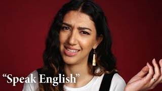 "Immigrants Respond to ""Speak English!"" 