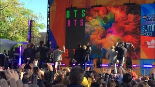 190515 - Boy With Luv- BTS GMA - Summer Concert Series