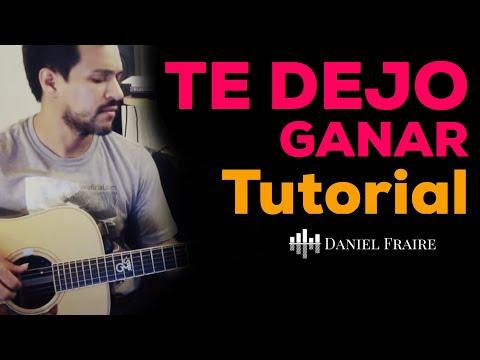 Te Dejo Ganar - Tutorial oficial de guitarra - Jesus Adrian Romero