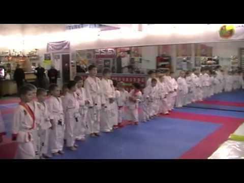 Экзамен по каратэ 24 ноября 2013 года в клубе Тигренок.ч.6