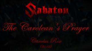 Sabaton - The Carolean's Prayer (Lyrics English & Deutsch)