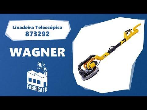 Lixadeira Telescópica Teto Parede 750W 873292 WBR 220V - Vídeo explicativo