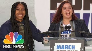 'I Just Threw Up on International Television And It Feels Great!': Sam Fuentes at Rally | NBC News