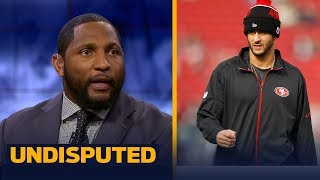 Ray Lewis delivers personal advice to QB Colin Kaepernick | UNDISPUTED