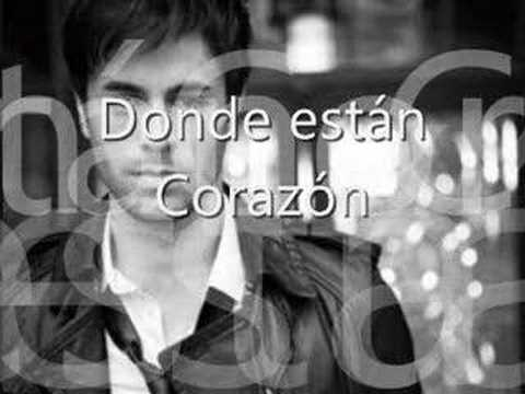 Baixar Donde estan corazon-Enrique Iglesias