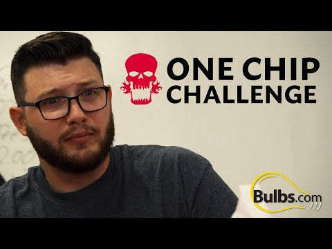 We Did The One Chip Challenge In The Office \\ SPOILER ALERT: It's Hot!